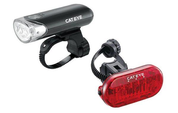 Cateye HL-EL135+Omni3